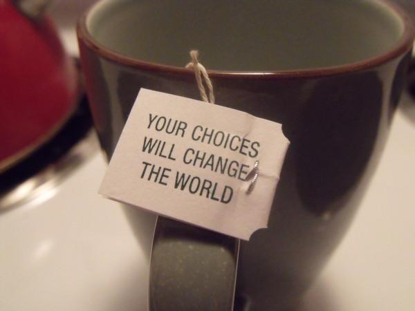 new choices, new habits