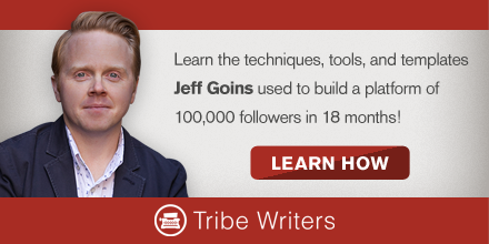 Tribe Writers by Jeff Goins